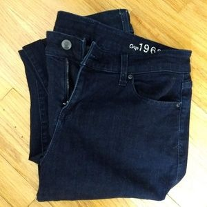 GAP Mid Rise Skinny Jeans 32/14r